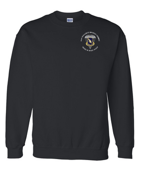 "504th PIR ""Devils in Baggy Pants"" Embroidered Sweatshirt-M"