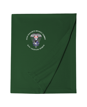 505th Parachute Infantry Regiment (Parachute) Embroidered Dryblend Stadium Blanket-M