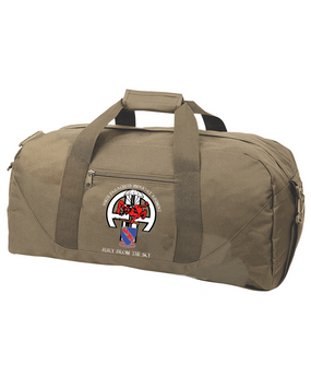 508th Parachute Infantry Regiment Embroidered Duffel Bag-M