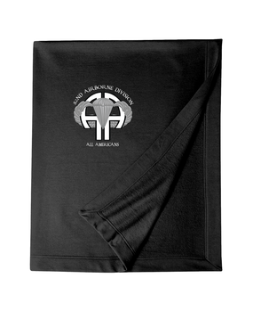 "82nd ""All American"" Embroidered Dryblend Stadium Blanket-M"