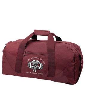 "82nd Airborne Division ""Punisher"" Embroidered Duffel Bag-M"