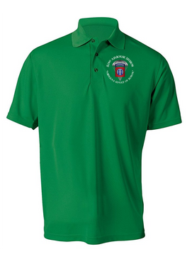 America's Guard of Honor Embroidered Moisture Wick Polo-M