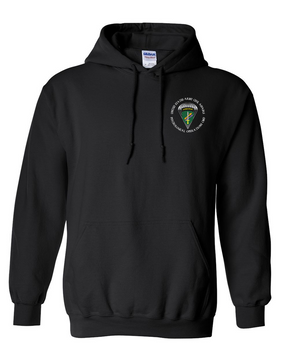 U.S. Army Civil Affairs Embroidered Hooded Sweatshirt