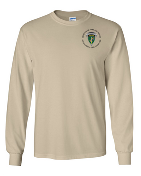 US Army Civil Affairs Long-Sleeve Cotton T-Shirt