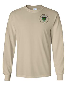 US Army Civil Affairs Long-Sleeve Cotton T-Shirt