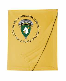 1st Special Operations Command (PARA) Embroidered Dryblend Stadium Blanket