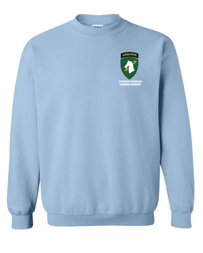1st Special Operations Command (V) Embroidered Sweatshirt