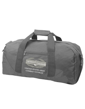 Combat Action Badge (CAB) Embroidered Duffel Bag