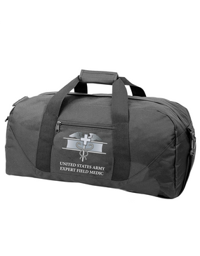 Expert Field Medical Badge (EFMB) Embroidered Duffel Bag
