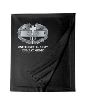 Combat Medical Badge (CMB) Embroidered Dryblend Stadium Blanket