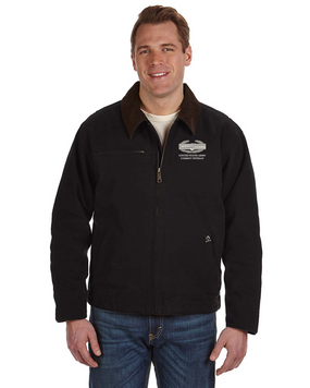 Combat Action Badge (CAB) Embroidered DRI-DUCK Outlaw Jacket