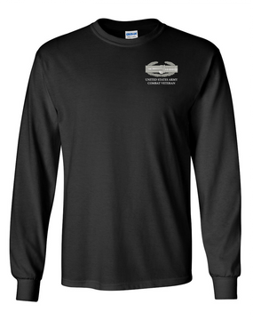 Combat Action Badge (CAB) Long-Sleeve Cotton T-Shirt