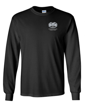 Combat Medical Badge (CMB) Long-Sleeve Cotton T-Shirt