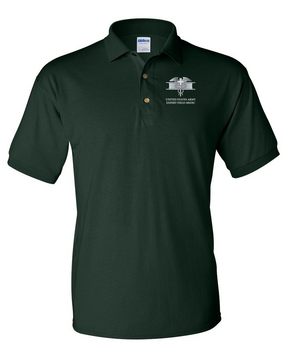 Expert Field Medical Badge (EFMB) Embroidered Cotton Polo Shirt
