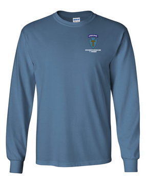 36th Infantry Division (Airborne) Long-Sleeve Cotton T-Shirt