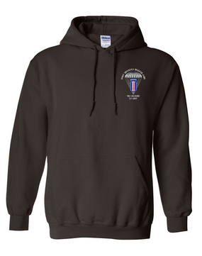 193rd Infantry Brigade (Airborne) Embroidered Hooded Sweatshirt