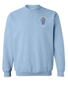 193rd Infantry Brigade (Airborne) Embroidered Sweatshirt