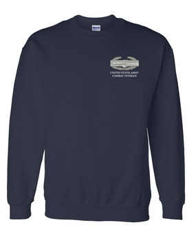 Combat Action Badge (CAB) Embroidered Sweatshirt