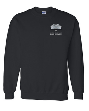 Expert Field Medical Badge (EFMB) Embroidered Sweatshirt
