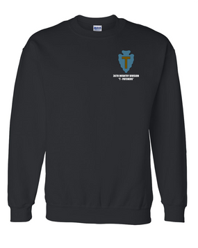 "36th Infantry Division ""T-Patchers"" Embroidered Sweatshirt"