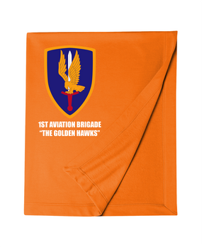 1st Aviation Brigade Embroidered Dryblend Stadium Blanket