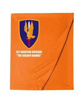 1st Aviation Brigade Embroidered Dryblend Stadium Blanket