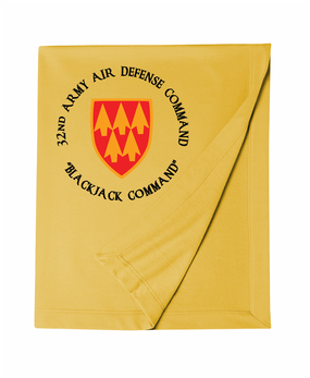 32nd Army Air Defense Command (C) Embroidered Dryblend Stadium Blanket