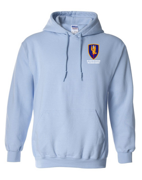 1st Aviation Brigade Embroidered Hooded Sweatshirt