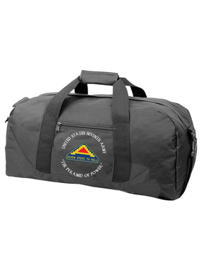 United States 7th Army (C) Embroidered Duffel Bag