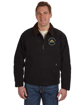 United States 7th Army (C)  Embroidered DRI-DUCK Outlaw Jacket