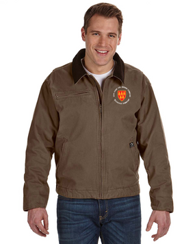 32nd Army Air Defense Command (C)  Embroidered DRI-DUCK Outlaw Jacket