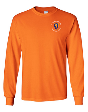1st Aviation Brigade (C)  Long-Sleeve Cotton T-Shirt