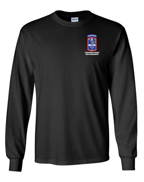 172nd Infantry Brigade (Airborne)  Long-Sleeve Cotton T-Shirt