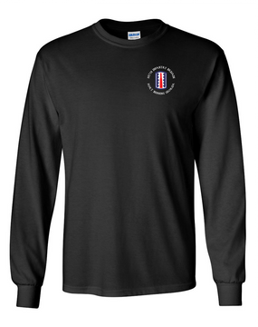197th Infantry Brigade (C) Long-Sleeve Cotton T-Shirt