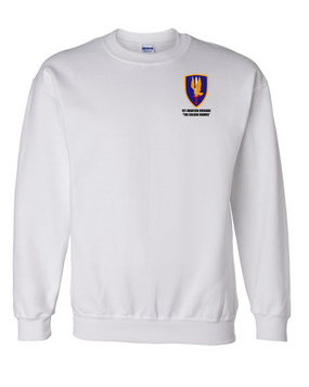 1st Aviation Brigade Embroidered Sweatshirt