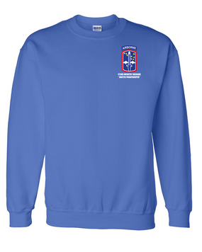 172nd Infantry Brigade (Airborne) Embroidered Sweatshirt