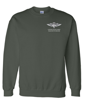 US Army Rigger Wings Embroidered Sweatshirt