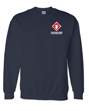 20th Engineer Brigade Embroidered Sweatshirt