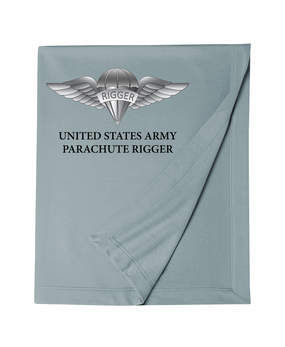 US Army Rigger Wings Embroidered Dryblend Stadium Blanket