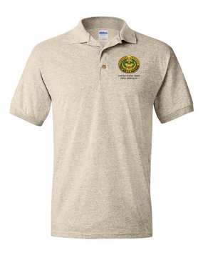 US Army Drill Sergeant Embroidered Cotton Polo Shirt