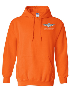 US Army Rigger Wings Embroidered Hooded Sweatshirt