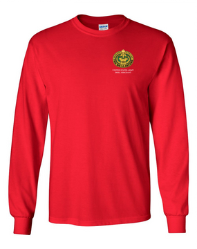 US Army Drill Sergeant Badge Long-Sleeve Cotton T-Shirt