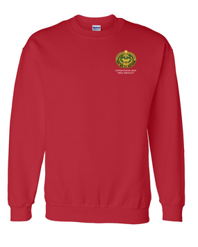 US Army Drill Sergeant Badge Embroidered Sweatshirt