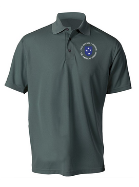 23rd Infantry Division (C) Embroidered Moisture Wick Polo  Shirt