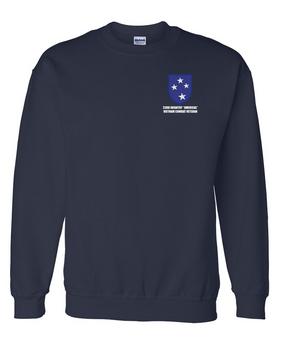"23rd Infantry Division ""Vietnam Combat Veteran""  Embroidered Sweatshirt"
