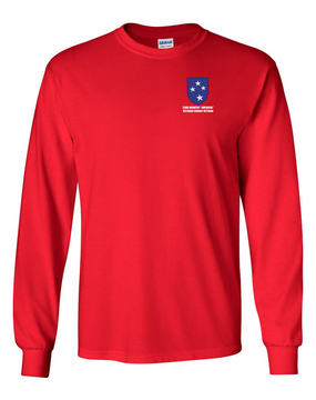 "23rd Infantry Division ""Vietnam Combat Veteran""  Long-Sleeve Cotton T-Shirt"