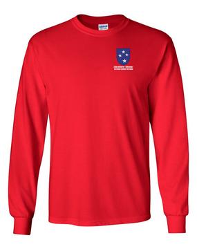 "23rd Infantry Division ""Vietnam Combat Veteran""  Long-Sleeve Cotton T-Shirt"