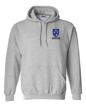 23rd Infantry Division Embroidered Hooded Sweatshirt