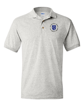 23rd Infantry Division (C) Embroidered Cotton Polo Shirt