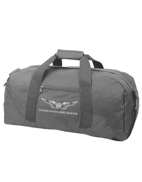 US Army Aviator Embroidered Duffel Bag